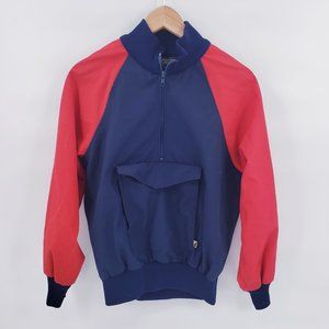 Vintage 70's USA made Pullover Colorblock Anorak